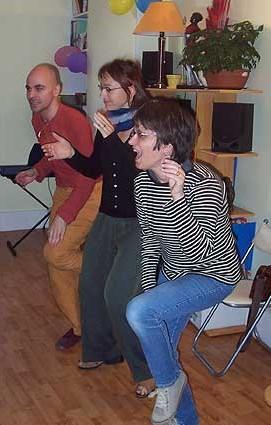 Chant et percussions corporelles - Si ca me chante